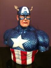 LIFE SIZE CAPTAIN AMERICA BUST STATUE/ACTION FIGURE.LAST ONE