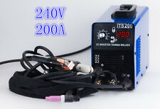 light weight 3.2MM 200A 240V WELDING ROD 2 in 1  IGBT TIG/MMA WELDING MACHINE