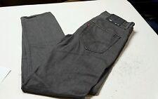 Mens Levis 508 Taper Fit Dark  Gray Wash Jeans Size 29x30 EUC