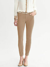 Brand NEW Banana Republic Women's Skinny Ankle Cord Pants Color Brown Size 29P