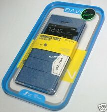 Bavin Premium Leather Case With Screen Protector For Apple iPhone 5 5S
