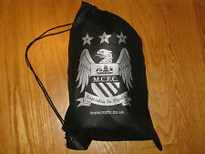 Manchester City Cinch Bag Lightweight Black (perfect for cleats, gym clothes)NWT