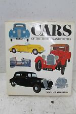 Cars of the 30's and 40's by Michael Sedwick (1990, Hardcover)