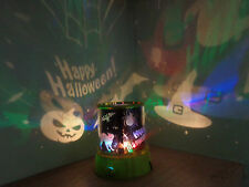 Happy Halloween Spook Master Projector Lights/Pumpkin/Witches/Bats/Spider
