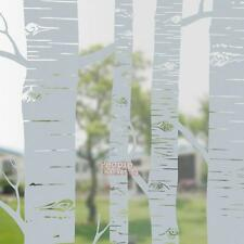 45*200cm Tree Trunk Frosted Glass Window Film Self Adhesive Sticker Home Decor