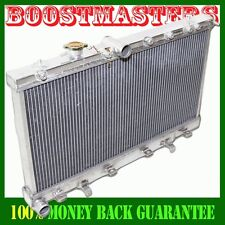 2 Rows Aluminum Radiator for 02-07 Subaru Impreza WRX STi Manual Transmission