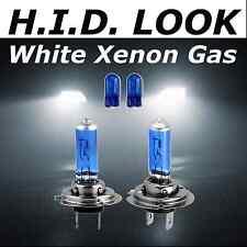 H7 501 55w White Xenon HID Look Headlight High Main Beam Bulbs E Marked