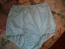 VINTAGE STYLE CUSTOM Blue ANTRON III Nylon SATIN  High Domed Mushroom Gusset 7