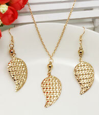 Fashion Women   Pendant Necklace Chain Earrings Jewelry Set DZ215