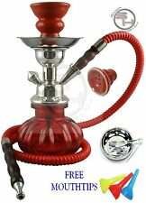 New Mini Small Red Hookah Shisha Nargila Smoke Pipe Pumpkin Vase Huka Hose