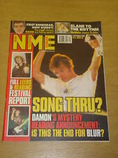 NME 1999 SEP 4 BLUR LEEDS & READING FESTIVAL OASIS