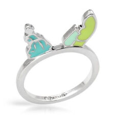 DISNEY Couture Cinderella's Carriage Ring in Multicolor Enamel & Base Metal Sz 7
