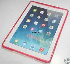 TPU Soft Gel Case With Screen Protector For Apple iPad AIR iPad 5