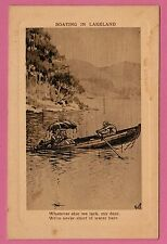 "Two cards ""COACHING IN LAKELAND"" & ""BOATING IN LAKELAND"", Cards are unposted"