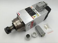 1.5KW ER20 Spindle Motor 4 Bearings 18000rpm High Speed CNC Square Woodworking
