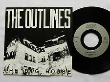 """The OUTLINES The big house FRENCH 7"""" 45 ZAP ZAP Rds(1987) alternative rock - EX+"""
