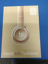 Beats By Dre Solo 2. GOLD WIRELESS Manufacture refurbished (open box)