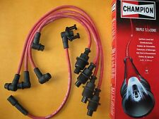 RENAULT R19 & CLIO 1.8i (93 on) RED TRIPLE SILICONE PERFORMANCE IGNITION LEADS