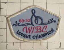 WIBC League Champion '89-'90 Patch - vintage