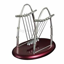 Newton's Cradle Executive Balance Balls Physics Science Pendulum Toy Gift UK