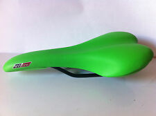 NEW ENDZONE SADDLE GREEN BMX MTB RACING TRACK FIXIE GEAR BIKES CYCLING BICYCLES