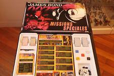 JEU DE PLATEAU JAMES BOND 007 MISSIONS SPECIALES 1999