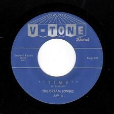 PHILLY DOO-WOP-DREAM LOVERS-V-TONE-229-TIME/MAY I KISS THE BRIDE