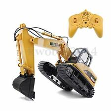 15 Channel 1/12 RC 2.4G Remote Control Excavator Tractor Vehicle Digger Car Toy