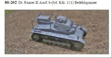MGM 80-202 1/72 Resin WWII German Panzer II Ausf. b (Sd. Kfz. 121) Command Tank