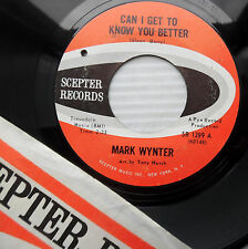 MARK WYNTER mod 45 CAN I GET TO KNOW YOU BETTER AM I LIVING IN mint minus e9670