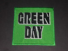 PUNK ROCK METAL MUSIC SEW/IRON ON PATCH:- GREEN DAY