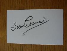 60's-2000's Autographed White Card: Coventry City - Gould, Trevor. No obvious fa