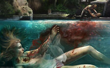"""Dead Island Zombie FPS Game Wall Poster 21x13"""" Decor 01"""