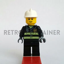 LEGO Minifigures - Fireman - cty023 - City Town Pompiere Omino Minifig Set 7240