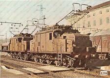 1975 ca FERROVIE STATO Locomotiva FS E.554 *Foto seriale 29x21