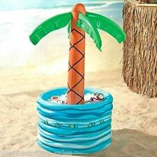 Inflatable Palm Pool Decorations Water Inflatables Party Supplies Beer Cooler