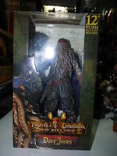 "NECA Pirates of the Caribbean 2 Davy Jones 12"" DEAD MAN CHEST Talking Figure MIB"