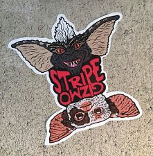 "Gizmo Stripe Gremlins Contour Cut Vinyl 4"" Sticker Slap Decal Indoor Outdoor"