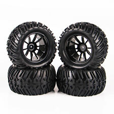 Tire & Wheel 12mm Hex For 1/10 RC Bigfoot Monster Truck Traxxas 4PCS 26201-22508