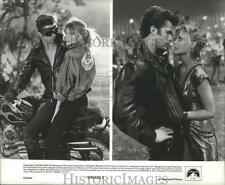 1982 Press Photo Maxwell Caulfield and Michelle Pfeiffer star in Grease 2.