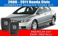Honda Civic REMOTE START CAR STARTER 2006 - 2011 - COMPLETE - EASIEST INSTALL!