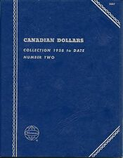 "Whitman Obsolete ""Canadian Dollars"" 1958-Date #2  Coin Folder 9087 New"