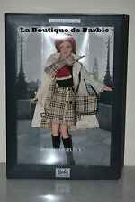 BURBERRY BARBIE DOLL, DESIGNERS COLLECTION, 29421, 2001, NRFB
