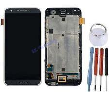 ECRAN LCD + VITRE TACTILE SUR CHASSIS BLOC COMPLETE POUR HTC DESIRE 620 NOIR
