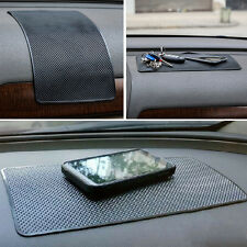 Black Car Mount Non-Slip Sticky Mat For Mobile Cell Phones GPS Card Accessories