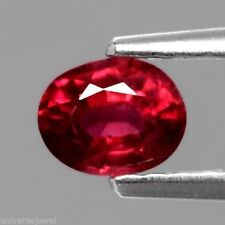Only! $9.99/1pc 5x4mm Oval Natural Rich Red Ruby, Mozambique