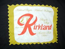 KIRKLAND CYCLING Rainier Beer BIKE T-SHIRT Size Adult MEDIUM Seattle East Side