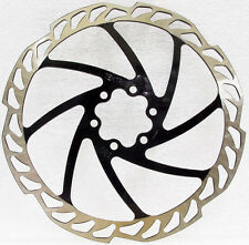Tektro MTB Disc Brake Rotor 6 Bolts 180mm Black 1pcs, Include Bolts