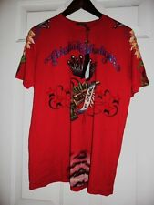 unique & rare unisex Christian Audigier S/S specialty made in U.S XL/2XL $23.00