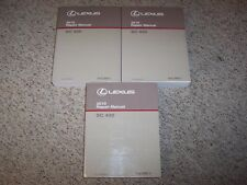 2010 Lexus SC430 SC 430 Factory Workshop Shop Service Repair Manual Set Vol 1-3